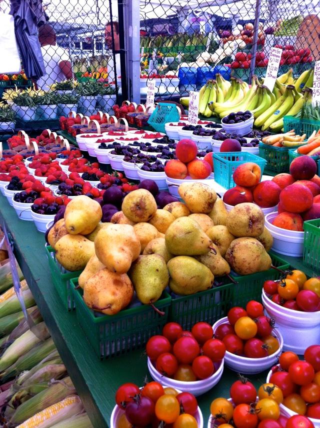 Fruits, fruits, and more fruits!