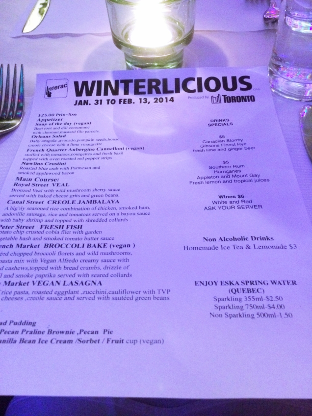 southern accents menu