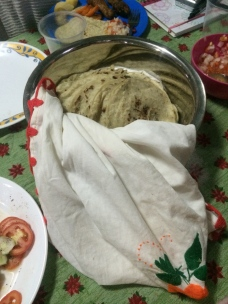 Hot homemade tortillas.