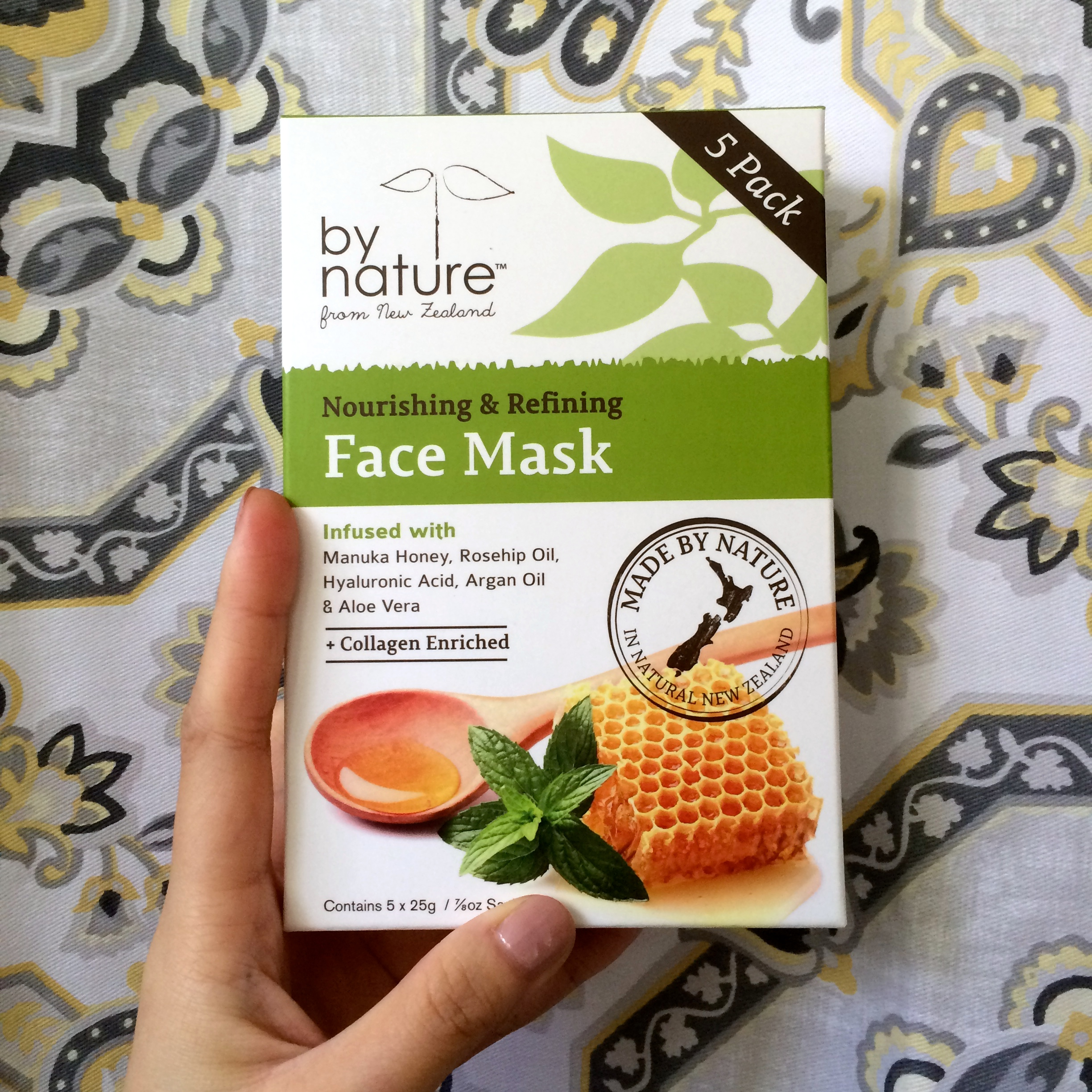 By Nature From New Zealand Face Mask Review